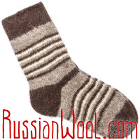 Шерстяные носки Уку-шу Дуб
