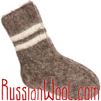 Мужские и женские носки из шерсти