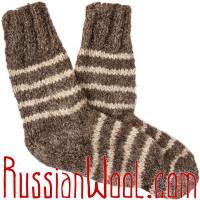 Носки Степные мужские чистошерстяные грубые