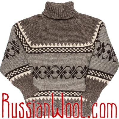 Свитер Деревенский XL серый