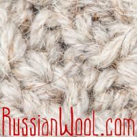 Жилетка-туника шерстяная женская удлиненная, бежевая