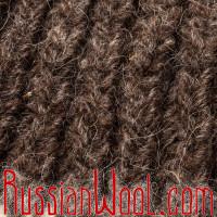 Свитер Балкарский S/M с оленями, ручной вязки, толстый, тёмный, 100% шерсть