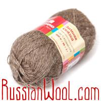 Варежки Зимняя сказка из 100% козьего пуха, цвет натуральный