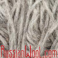 Ровница чистошерстяная овечья серебристо-серая