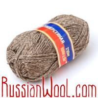 Носки высокие  мужские вязаные 100% овечья шерсть, серые